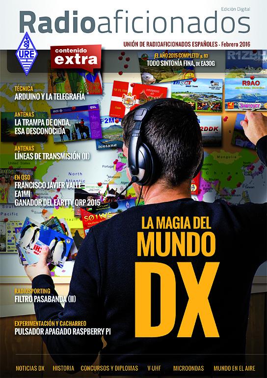 portada  edición digital de la revista Radioaficionados